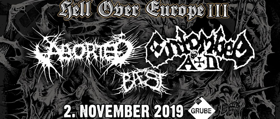 Tickets Aborted, Entombed A.D., Beast in Kassel
