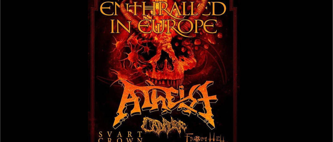 Tickets ATHEIST + CADAVER + SVART CROWN + FROM HELL,  in Kassel