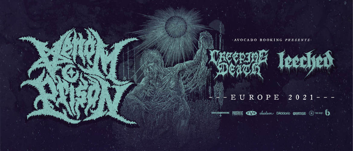 Tickets VENOM PRISON / CREEPING DEATH / LEECHED,  in Kassel